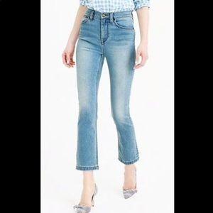 J. Crew Billie Demi Crop Jeans
